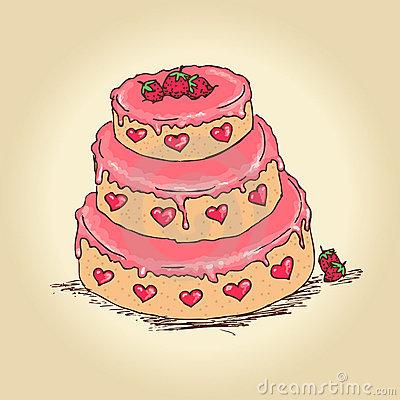 Мелкие картинки торта