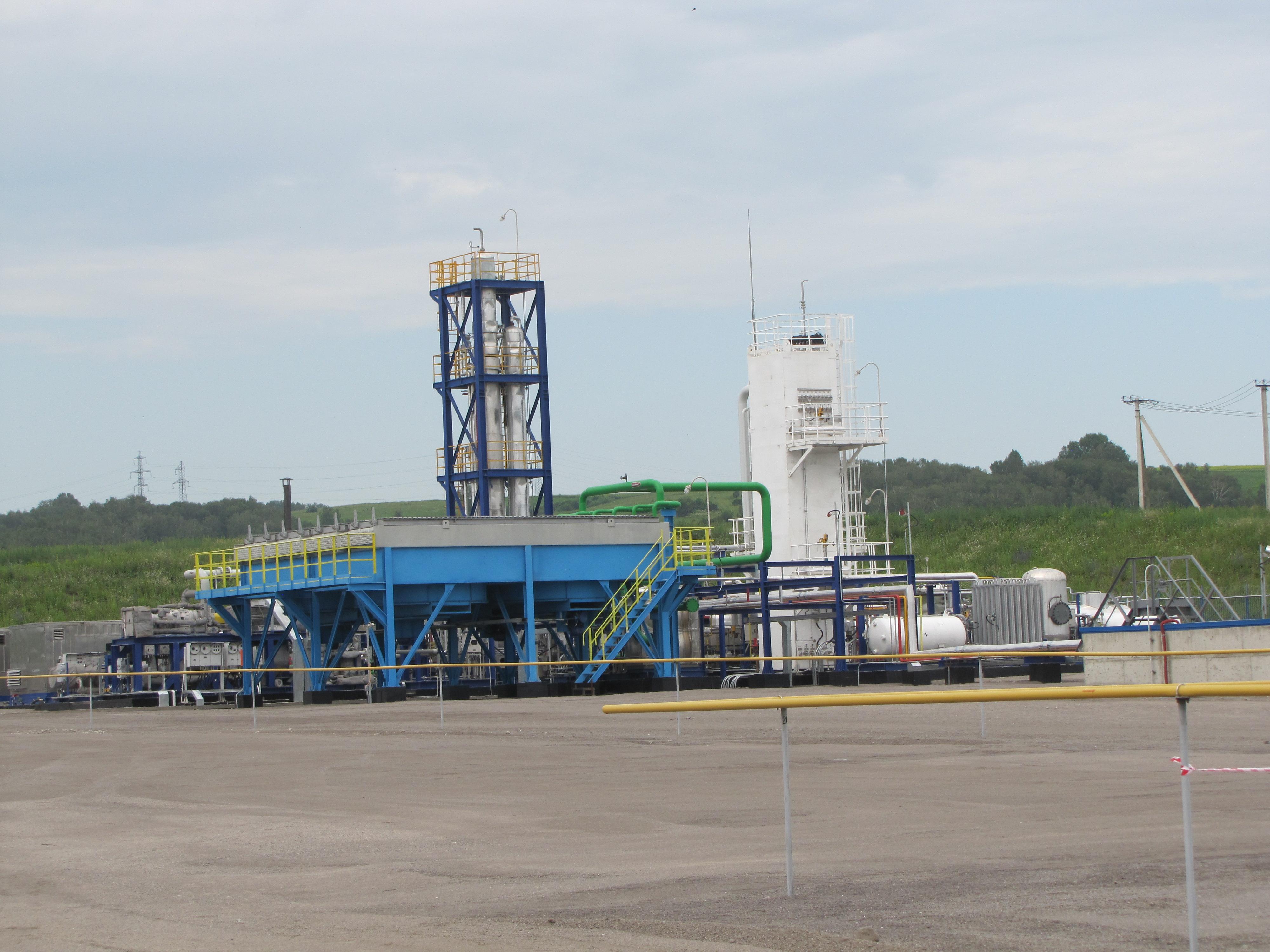 ВКузбассе открыли завод посжижению газа