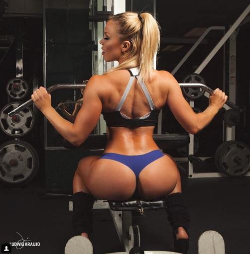 Фитнес отжиг порно