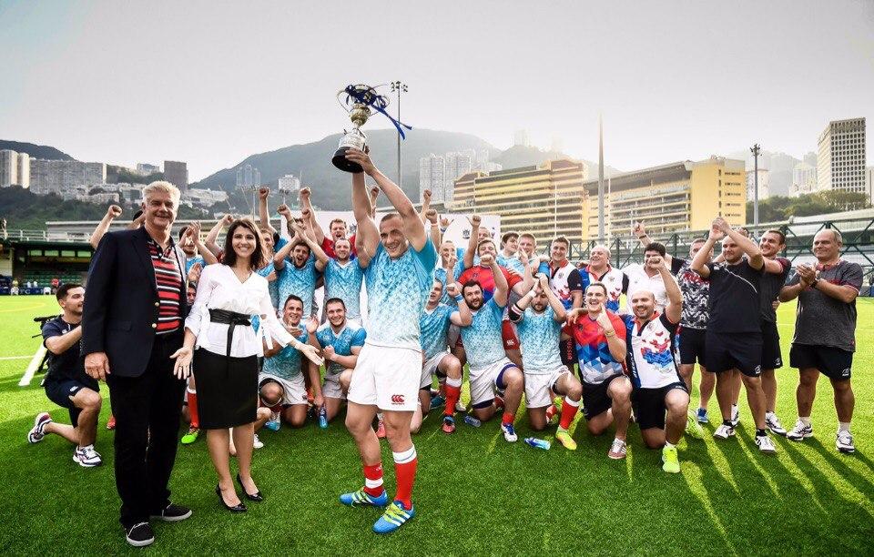 Русские регбисты 3-й раз подряд выиграли Кубок наций